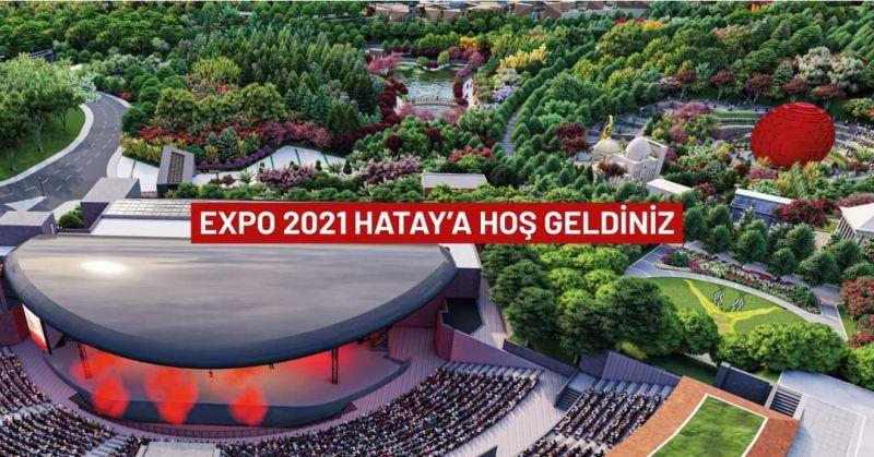EXPO 2021 Hatay 2 bin 200 bitki türünün vitrini olacak