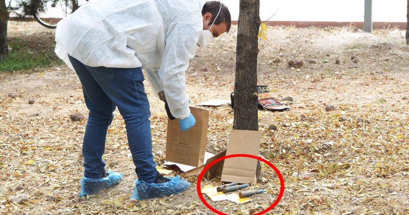Konya'da belediye işçisi uçaksavar mermileri buldu