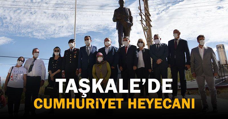 Republic Day Celebrations Held in Taşkale