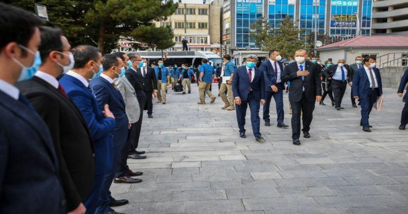 Cumhurbaşkanı Erdoğan İzmir'e gidiyor