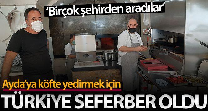 Türkiye depremin simgesi Ayda'ya köfte yedirmek için seferber oldu