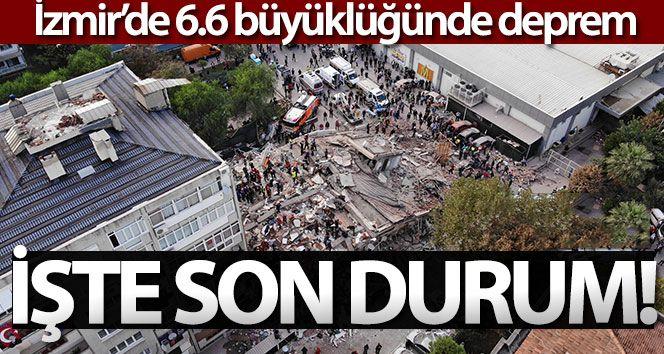 İzmir Deprem Bölgesinde Son Durum