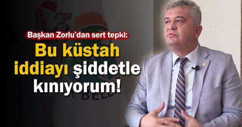 President Zorlu: I condemn this arrogant claim