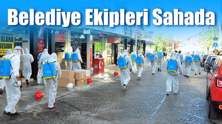 Karaman Belediyesi'nden Koronavirüs ile Mücadele