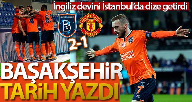 Başakşehir 2-1 Manchester United