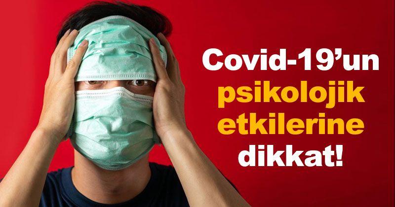 Bayram Şimşek uyardı: Covid-19'un Psikolojik Etkilerine Dikkat!