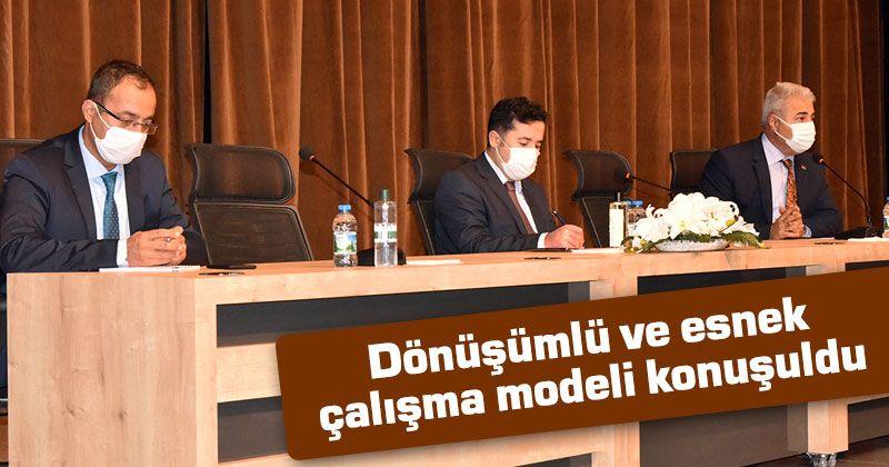Karaman'da dönüşümlü ve esnek çalışma modeli