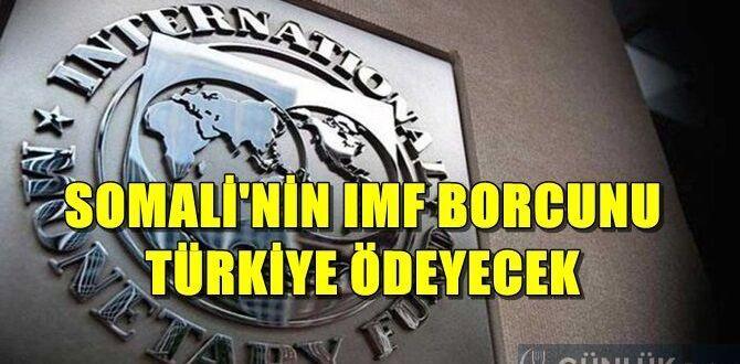 Türkiye Somali'nin borcunu silecek