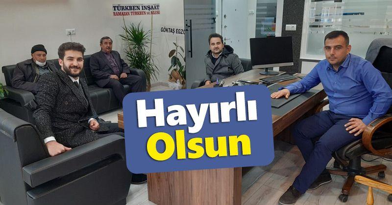 Yasin Türkben Muhasebe Bürosunu Açtı