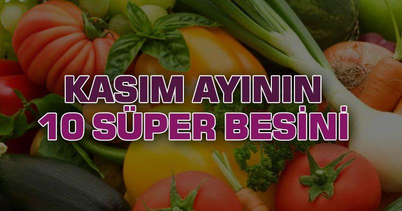 10 Super Foods of November