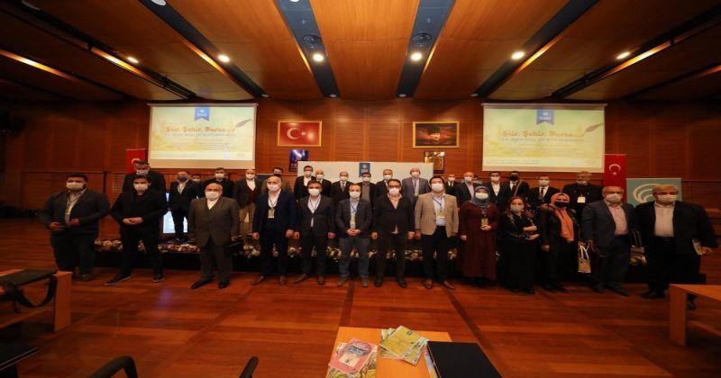 Bursa'da 10 şiir 10 şair etkinliği yapıldı