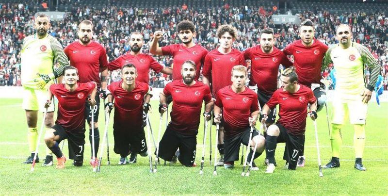 Ampute Milli Futbol Takımı'nın hedefi Avrupa Şampiyonluğu