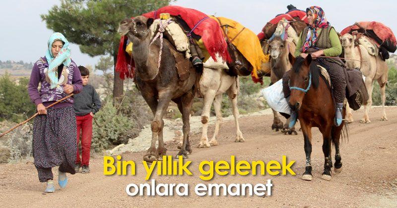 Sarıkeçili Yoruks continue the thousand-year-old nomadic culture of Anatolia