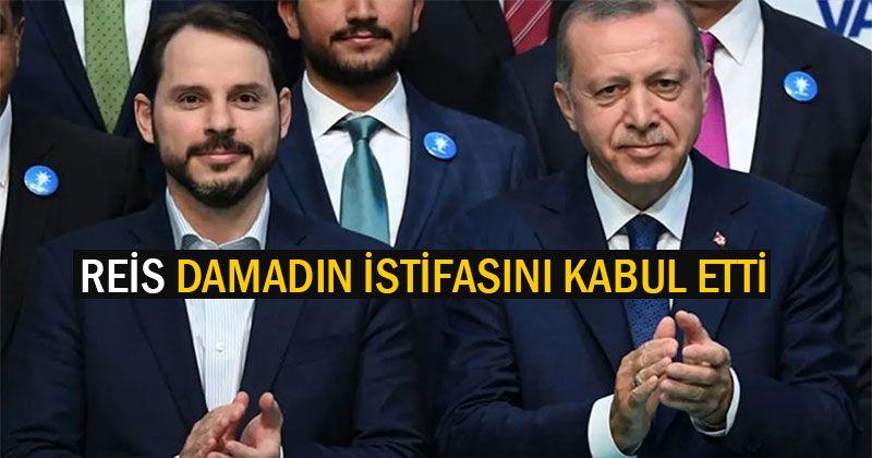Berat Albayrak'ın istifasıyla ilgili Cumhurbaşkanlığından açıklama