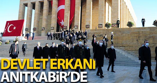 Devlet erkanı 10 Kasım'da Anıtkabir'i ziyaret etti