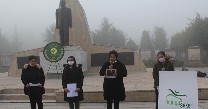 November 10 Ataturk Commemoration Program in Konya Şeker