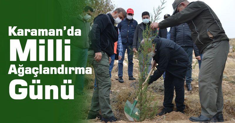 11 November National Afforestation Day event in Karaman