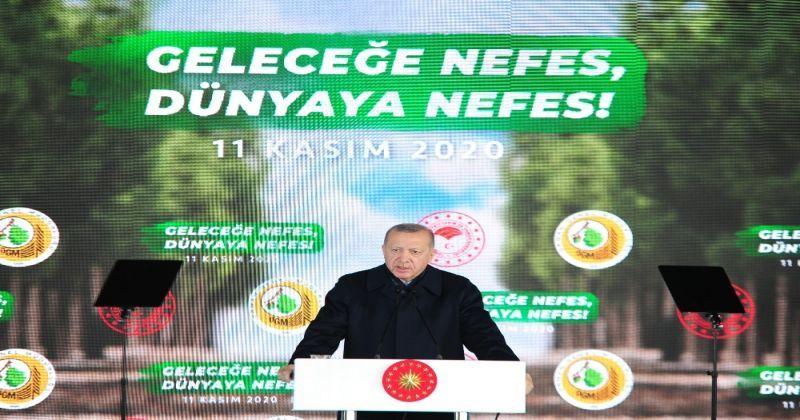 """Cumhurbaşkanı Erdoğan: """"Sahte çevrecilere aldırmadan çalışmalara devam ediyoruz"""""""