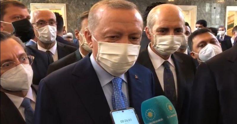 Cumhurbaşkanı Erdoğan: Dağlık Karabağ'da Türk askerinin konumu...