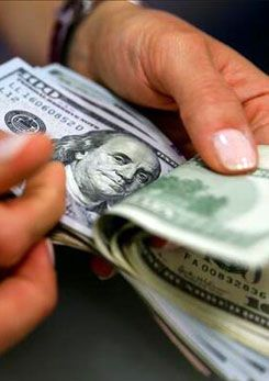 Dollar and euro fell hard!