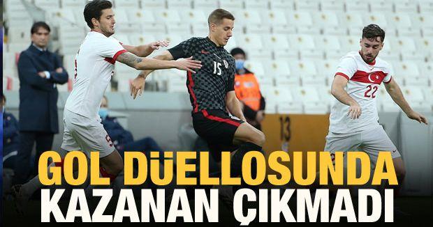 Türkiye Hırvatistan Maçı 3-3