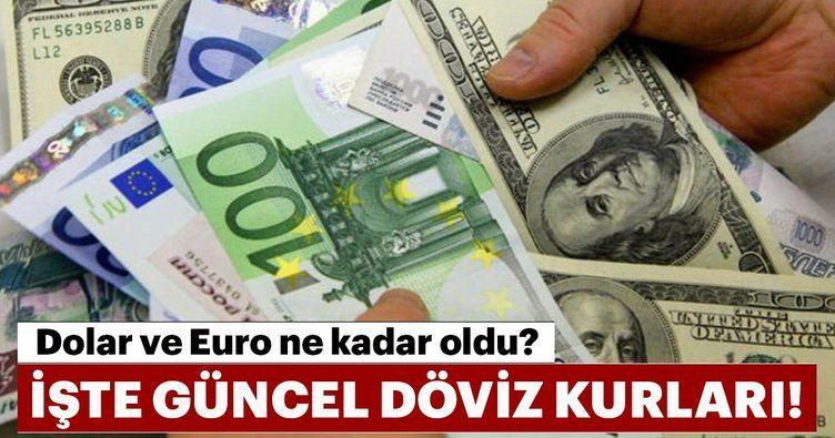 Dolar Euro düşüşe geçti: 7,68 görüldü