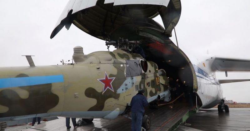 Rusya, Dağlık Karabağ'a hava gücü gönderdi