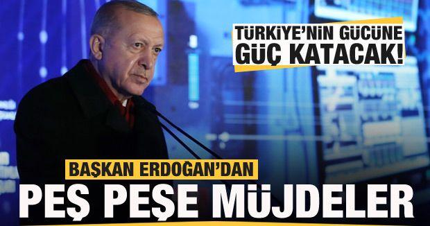 Başkan Erdoğan duyurdu! Türkiye'nin gücüne güç katacak