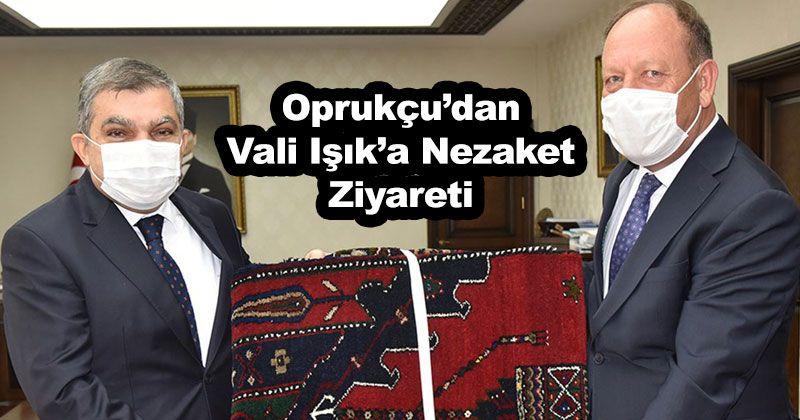 Courtesy Visit from Ereğli Mayor Oprukçu to Governor Işık