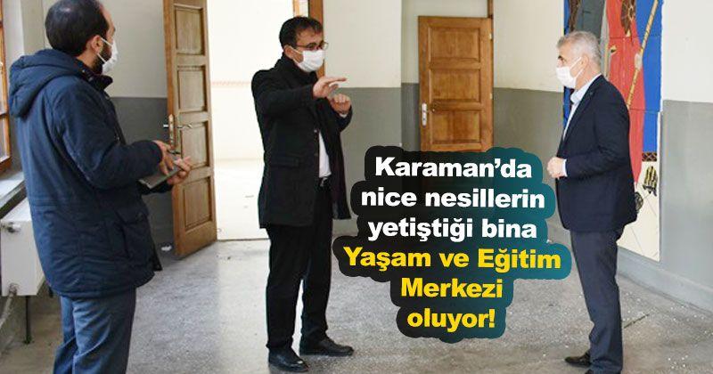 Karaman Life and Education Center Opens