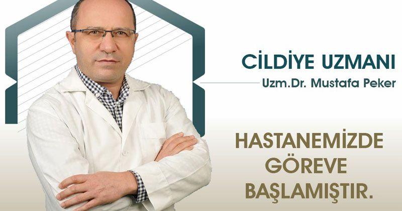 Dermatologist Dr. Mustafa Peker in Selçuklu Hospital