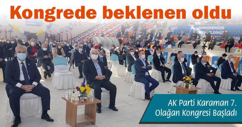 AK Party Karaman 7th Ordinary Congress Started