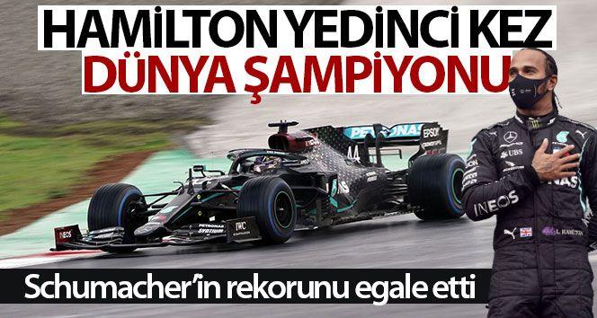 Lewis Hamilton, İstanbul'da şampiyonluğunu ilan etti