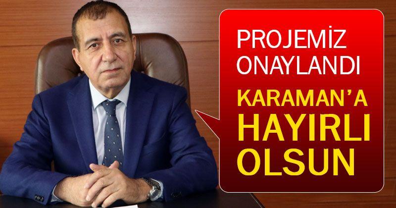 Karaman OSB Atıksu Arıtma Tesisi Projesi Onaylandı