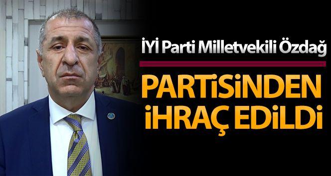 İYİ Parti Milletvekili Ümit Özdağ partisinden ihraç edildi