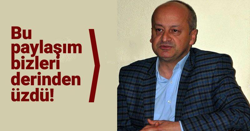 Reprimand by Kağnıcı for Sharing Insulting Atatürk