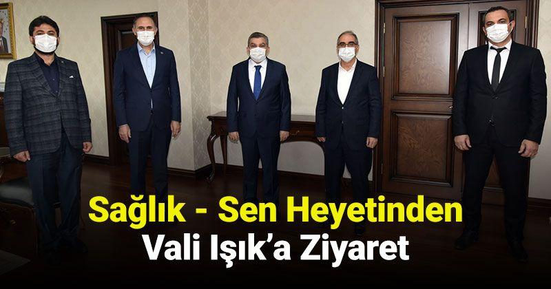 Health - A Visit to Governor Işık from the Senate
