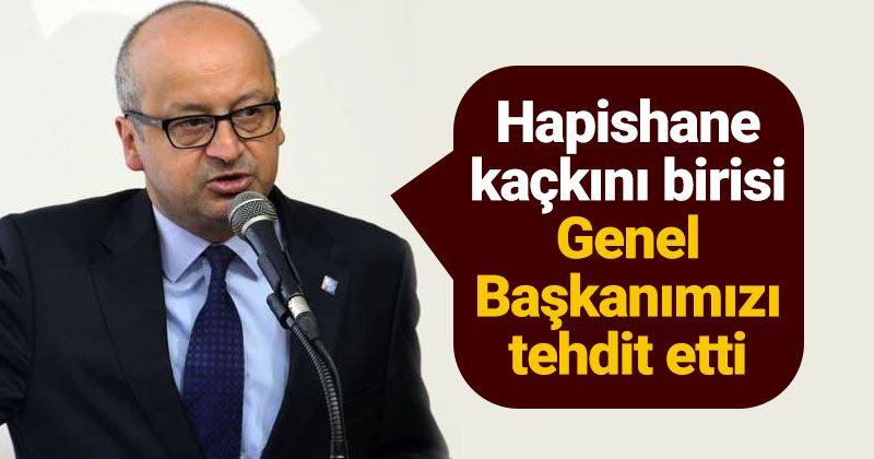 Kağnıcı: An escapist threatened our President