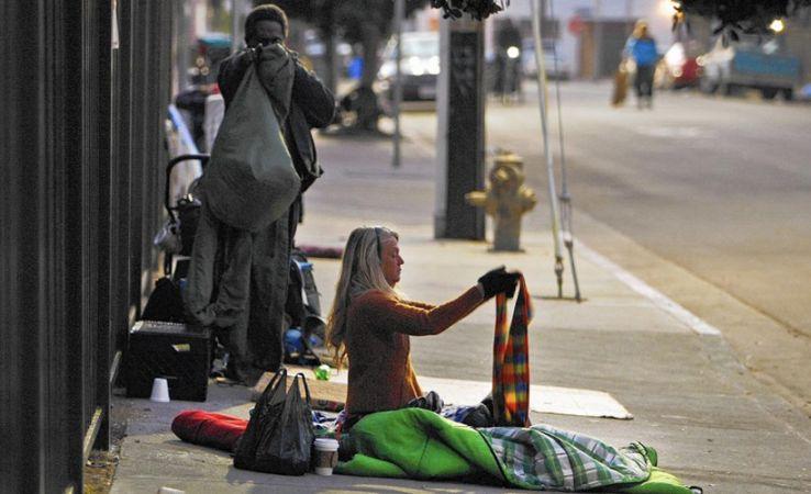 ABD'de sokakta yaşamak zorunda kalan evsiz insan sayısı ne kadar?