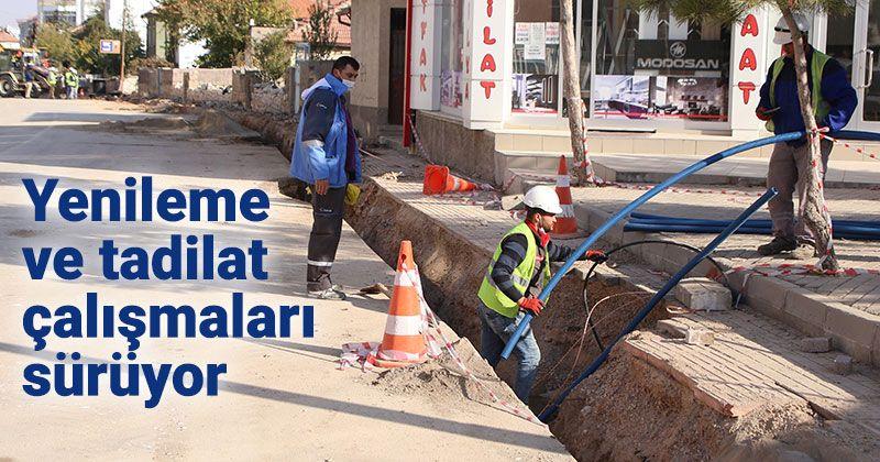 Working in Zembilli and Kırbağı Neighborhoods