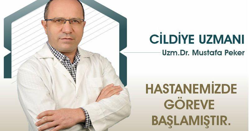 Dermatologist Dr. Mustafa Peker started to work in Selçuklu Hospital