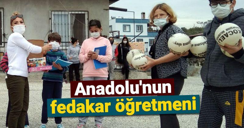 Devoted teacher of Anatolia
