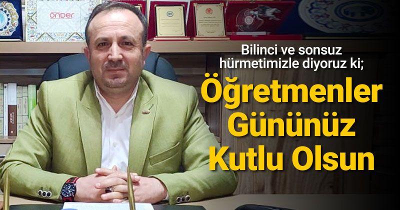 Message from President Sarı on 24 November Teacher's Day