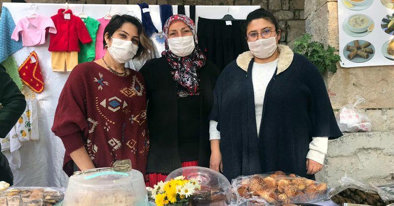 Mutlu kadınlar SMA hastası çocuk için stant açtı