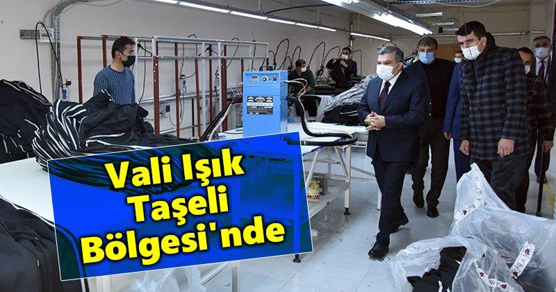 Governor Işık Visited Taşeli Region