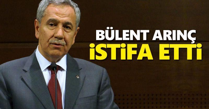 Bülent Arınç resigned