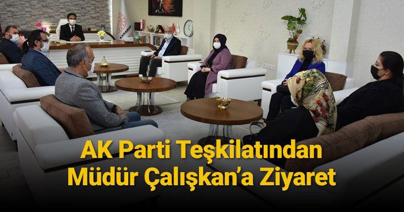 Visit to Provincial Director Çalışkan from AK Party Organization