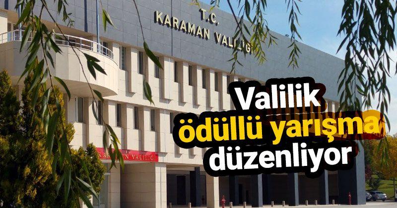 Award-winning slogan contest in Karaman