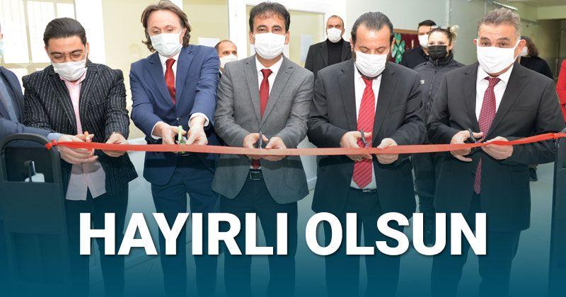 Martyr Birol Öztekin Library Opened