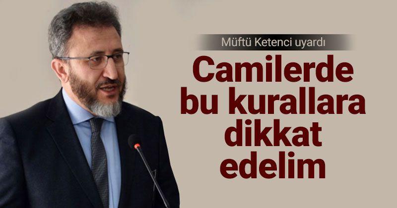 Corona Warning from Karaman Mufti Ketenci